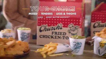 Church's Chicken Restaurants Go Box TV Spot, 'A Lot of Catching Up' - Thumbnail 5