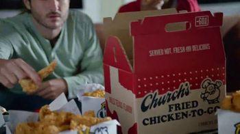 Church's Chicken Restaurants Go Box TV Spot, 'A Lot of Catching Up' - Thumbnail 6