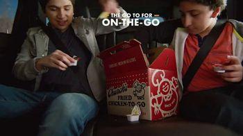 Church's Chicken Restaurants Go Box TV Spot, 'A Lot of Catching Up'