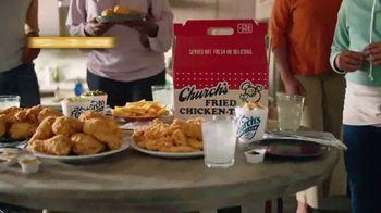 Church's Chicken Restaurants Go Box TV Spot, 'A Lot of Catching Up' - Thumbnail 8