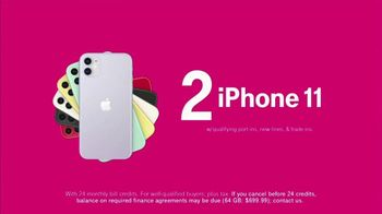 T-Mobile TV Spot, 'Get Two iPhones' - Thumbnail 5