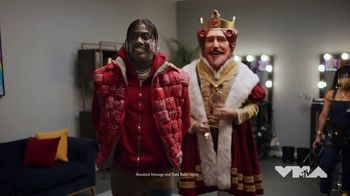 Burger King TV Spot, '2020 Video Music Awards: Green Room' Featuring Lil Yachty - Thumbnail 3