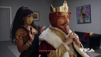 Burger King TV Spot, '2020 Video Music Awards: Green Room' Featuring Lil Yachty - 24 commercial airings