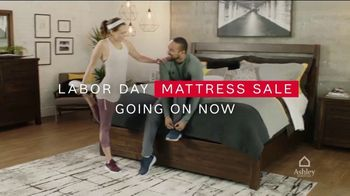 Ashley HomeStore Labor Day Mattress Sale TV Spot, 'Tempur-Pedic Queen Mattresses: $23 a Month' - Thumbnail 2