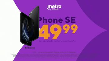 Metro by T-Mobile TV Spot, 'Rule Your Day: iPhone SE: $49.99' - Thumbnail 3