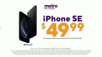 Metro by T-Mobile TV Spot, 'Rule Your Day: iPhone SE: $49.99' - Thumbnail 4