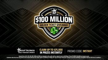 DraftKings $100 Million Golden Ticket Giveaway TV Spot, 'Have You Heard?' - Thumbnail 4