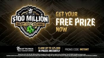 DraftKings $100 Million Golden Ticket Giveaway TV Spot, 'Have You Heard?' - Thumbnail 5