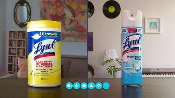 Lysol TV Spot, 'Practice Healthy Habits' - Thumbnail 9
