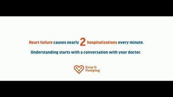 Novartis TV Spot, 'Keep It Pumping: Understand Heart Failure' - Thumbnail 1