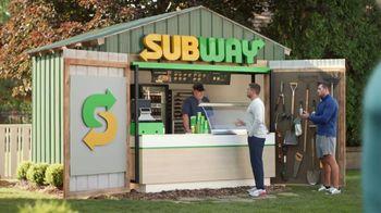 Subway TV Spot, 'The Watt Family Shed' Featuring Derek Watt, J.J. Watt, T.J. Watt - Thumbnail 6