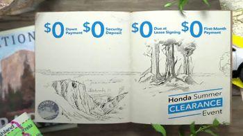 Honda Summer Clearance Event TV Spot, 'Safe Adventure: CR-V, HR-V & Pilot' [T2] - Thumbnail 2