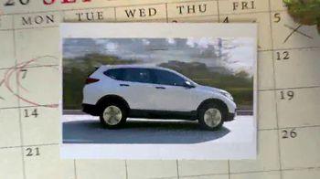 Honda Summer Clearance Event TV Spot, 'Safe Adventure: CR-V, HR-V & Pilot' [T2] - Thumbnail 3