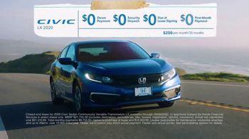Honda Summer Clearance Event TV Spot, 'Safe Adventure: Civic' [T2] - Thumbnail 5