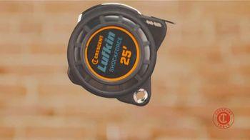 Crescent Lufkin Shockforce Tape Measure TV Spot, 'Survives Drops' - Thumbnail 1