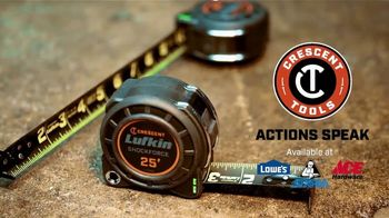 Crescent Lufkin Shockforce Tape Measure TV Spot, 'Survives Drops' - Thumbnail 10