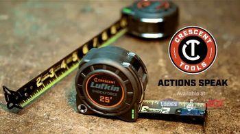 Crescent Lufkin Shockforce Tape Measure TV Spot, 'Survives Drops' - Thumbnail 9