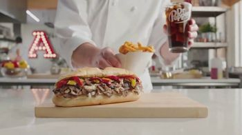 Arby's Prime Rib Cheesesteaks TV Spot, 'All Your Friends' Song by YOGI - Thumbnail 3