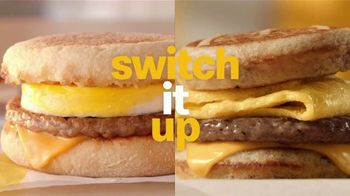 McDonald's Buy One, Get One for $1 TV Spot, 'Switch or Match It Up: Breakfast' - Thumbnail 1