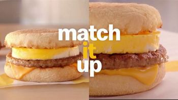 McDonald's Buy One, Get One for $1 TV Spot, 'Switch or Match It Up: Breakfast' - Thumbnail 2