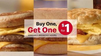 McDonald's Buy One, Get One for $1 TV Spot, 'Switch or Match It Up: Breakfast' - Thumbnail 3