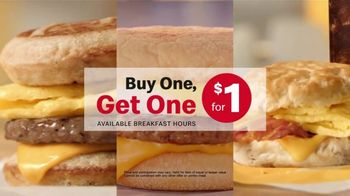 McDonald's Buy One, Get One for $1 TV Spot, 'Switch or Match It Up: Breakfast' - Thumbnail 7