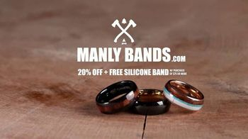 Manly Bands TV Spot, 'Four Types of Man: 20% Off' - Thumbnail 10