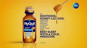 Vicks NyQuil Severe Honey TV Spot, 'Soothing' - Thumbnail 7