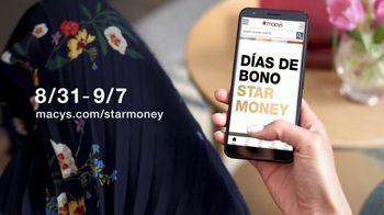 Macy's Venta del Día del Trabajo TV Spot, 'Sábanas, camisas y faldas' [Spanish] - Thumbnail 6