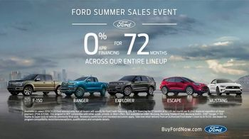 Ford Summer Sales Event TV Spot, 'Ford Promise: Grab the Family' Song by Kygo, Whitney Houston [T2] - Thumbnail 9