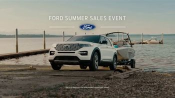 Ford Summer Sales Event TV Spot, 'Ford Promise: Grab the Family' Song by Kygo, Whitney Houston [T2] - Thumbnail 2