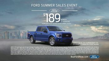 Ford Summer Sales Event TV Spot, 'Ford Promise: Grab the Family' Song by Kygo, Whitney Houston [T2] - Thumbnail 8