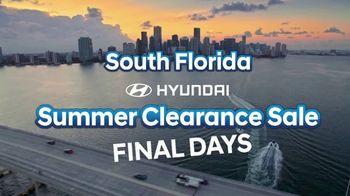 Hyundai South Florida Summer Clearance Sale TV Spot, 'Get Huge Savings' [T2] - Thumbnail 2
