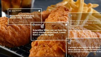 Jack in the Box Spicy Chicken Strips Combo TV Spot, 'A Little Birdie Told Me: $4.99' - Thumbnail 7