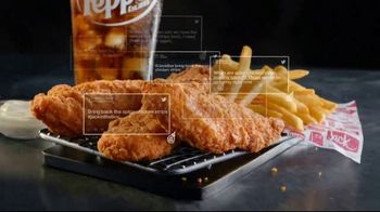 Jack in the Box Spicy Chicken Strips Combo TV Spot, 'A Little Birdie Told Me: $4.99' - Thumbnail 8