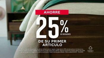 Ashley HomeStore Venta de Labor Day TV Spot, '25% de descuento' [Spanish] - Thumbnail 2