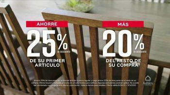Ashley HomeStore Venta de Labor Day TV Spot, '25% de descuento' [Spanish] - Thumbnail 3