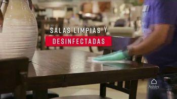 Ashley HomeStore Venta de Un Día TV Spot, 'Salas limpias y desinfectadas' [Spanish] - Thumbnail 2