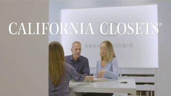 California Closets Autumn Upgrade Event TV Spot, 'Reorganizing' - Thumbnail 1