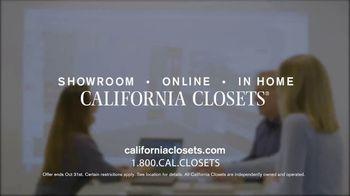 California Closets Autumn Upgrade Event TV Spot, 'Reorganizing' - Thumbnail 7