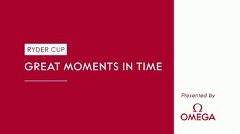 OMEGA TV Spot, 'Ryder Cup Great Moments in Time: Oakland Hills' Featuring Sergio Garcia - Thumbnail 1