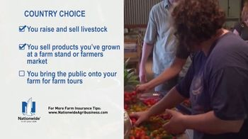 Nationwide Agribusiness CountryChoice Policy TV Spot, 'Small Farm Owners' - Thumbnail 5