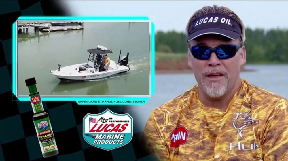 Lucas Marine Products Safeguard Ethanol Fuel Conditioner TV Commercial, 'Favorite' Featuring Mark Da
