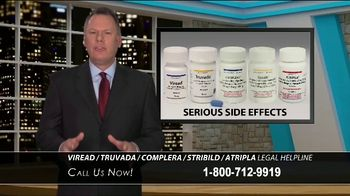Shrader & Associates LLP TV Spot, 'HIV Medication Helpline'