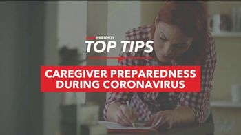 AARP Services, Inc. TV Spot, 'Top Tips: Caregiver Preparedness During COVID' - Thumbnail 2