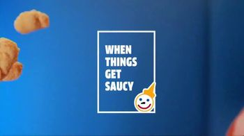 Jack in the Box Popcorn Chicken Combos TV Spot, 'When Things Get Saucy' - Thumbnail 2