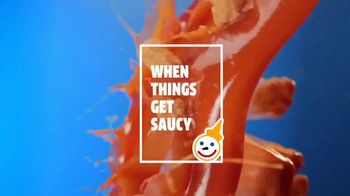 Jack in the Box Popcorn Chicken Combos TV Spot, 'When Things Get Saucy' - Thumbnail 3