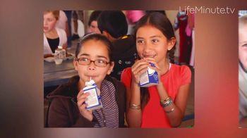 LifeMinute TV TV Spot, 'Got Milk Helps Children in Need Get Meals' Ft Kyle Kuzma, Alejandra Espinoza - 1 commercial airings