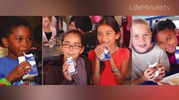 LifeMinute TV TV Spot, 'Got Milk Helps Children in Need Get Meals' Ft Kyle Kuzma, Alejandra Espinoza