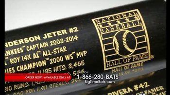 Big Time Bats TV Spot, 'Jeter & Rivera Hall of Fame Two Bat Set' - Thumbnail 1